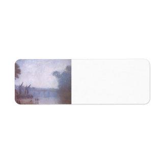 Buey de Philip Wilson un paisaje clásico, Richmond Etiqueta De Remite