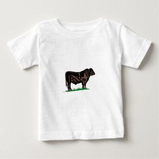 Buey negro de Angus Tshirt