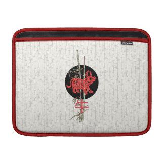 Buey (zodiaco chino) fundas para macbook air