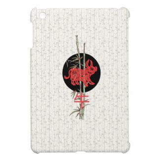 Buey zodiaco chino iPad mini cárcasas