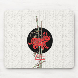 Buey (zodiaco chino) alfombrillas de raton