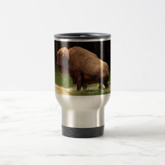 Búfalo 3 (bisonte) Kansas, Oklahoma, Wyoming Taza De Viaje