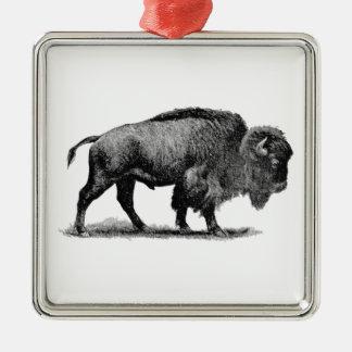 Búfalo americano ornamentos para reyes magos