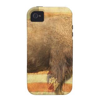 Búfalo americano vibe iPhone 4 carcasa