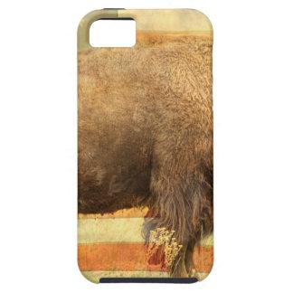 Búfalo americano iPhone 5 carcasa