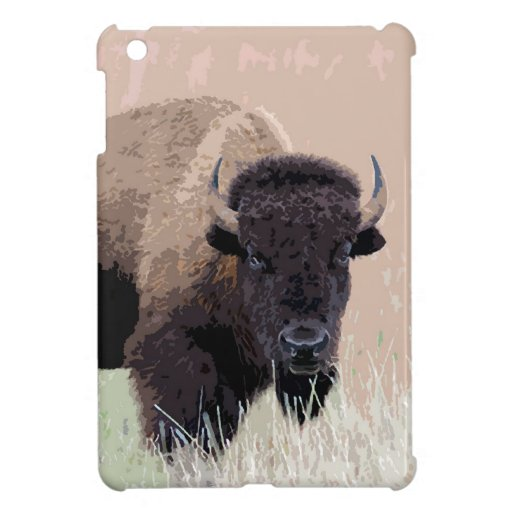 Búfalo/bisonte iPad Mini Protector