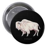 Búfalo blanco pin
