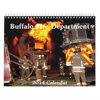 Búfalo calendario de NY FireDepartment 2014