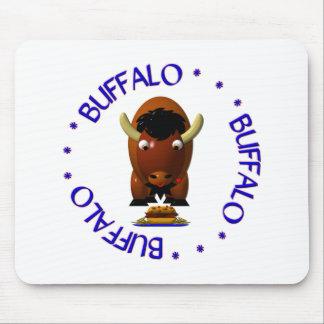 Búfalo con carne de vaca en Weck y las alas de búf Alfombrilla De Ratones
