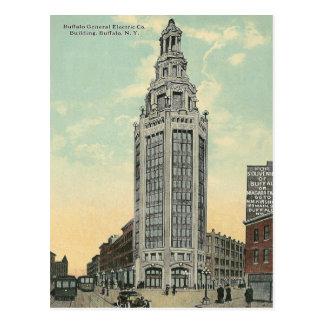 Búfalo de General Electric del vintage, Nueva York Tarjetas Postales