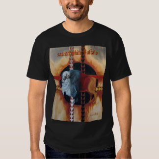Búfalo de IMG_2593white, búfalo blanco sagrado Remera
