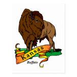Búfalo de Kansas Postal
