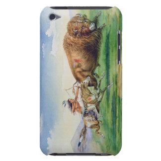 Búfalo de la caza de Siux en el potro adornado (ac Barely There iPod Fundas