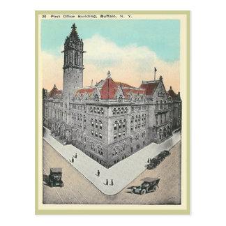 Búfalo de la oficina de correos del vintage, Nueva Postal