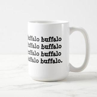 Búfalo del búfalo del búfalo del búfalo del búfalo tazas