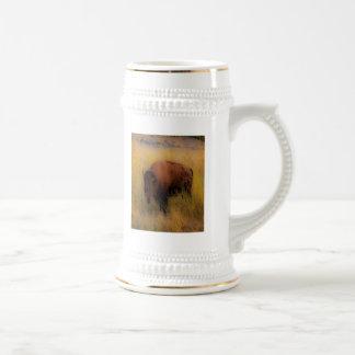 Búfalo del sudoeste del Prarie Taza