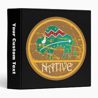Búfalo indio del nativo americano