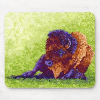 Búfalo púrpura tapete de ratones