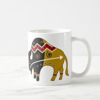 Búfalo tradicional tazas de café
