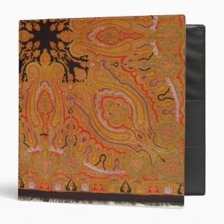 """Bufanda de la cachemira, c.1870-80 carpeta 1 1/2"""""""
