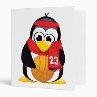 """Bufanda del pingüino del baloncesto carpeta 1"""""""