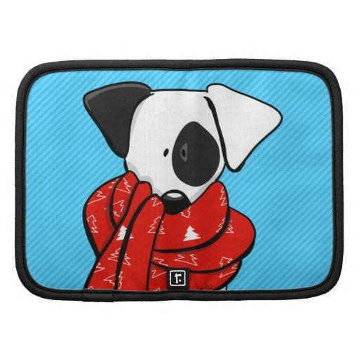 Bufanda roja moderna de Jack Russell Terrier Organizadores
