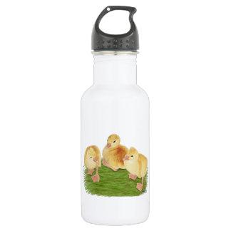 Buff Goslings Tufted Stainless Steel Water Bottle