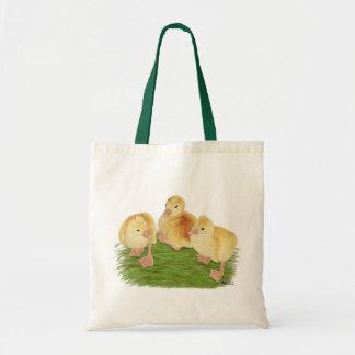 Buff Goslings Tufted Tote Bag