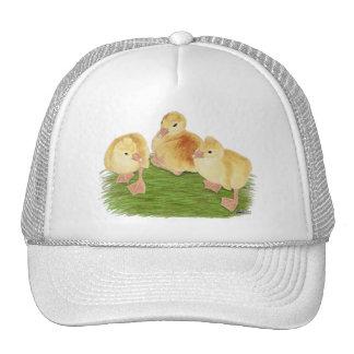 Buff Goslings Tufted Trucker Hat