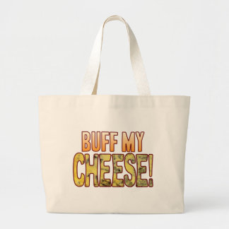 Buff My Blue Cheese Large Tote Bag