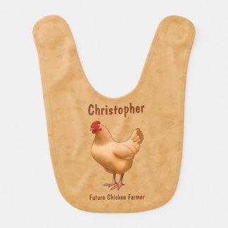 Buff Orpington Chicken Hen Bib