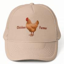 Buff Orpington Chicken Hen Trucker Hat
