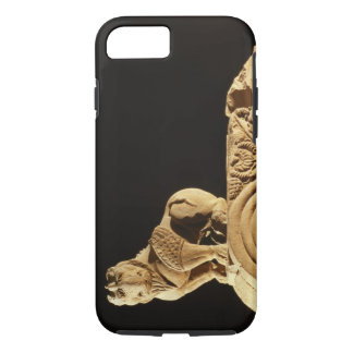 Buff sandstone architrave with griffin, Sanchi, MP iPhone 8/7 Case