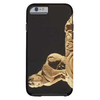 Buff sandstone architrave with griffin, Sanchi, MP Tough iPhone 6 Case