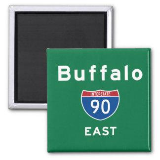 Buffalo 90 fridge magnet