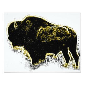 Buffalo Abstract Invites