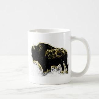 Buffalo Abstract Mugs