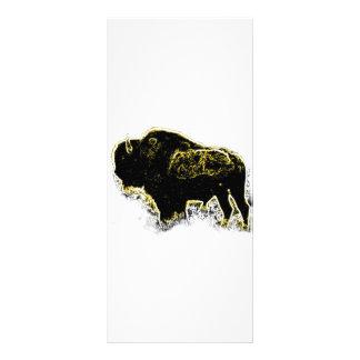 Buffalo Abstract Rack Card