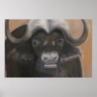 Buffalo African Print