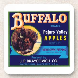 Buffalo Apples Drink Coaster