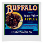Buffalo Apples Poster