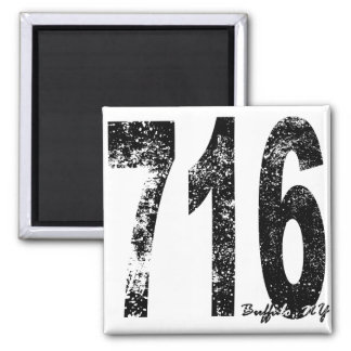 Buffalo Area Code 716 Magnet