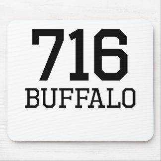 Buffalo Area Code 716 Mouse Pads