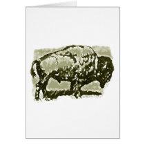 Buffalo Art Card