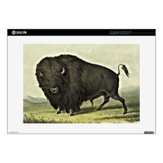 buffalo art skins for laptops