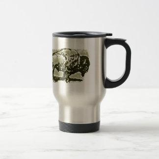 Buffalo Art Travel Mug