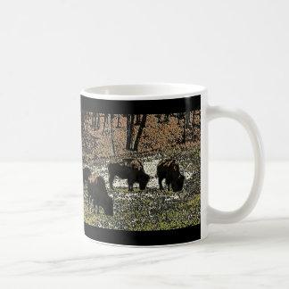 Buffalo Art Wild West Western Theme Coffee Mug