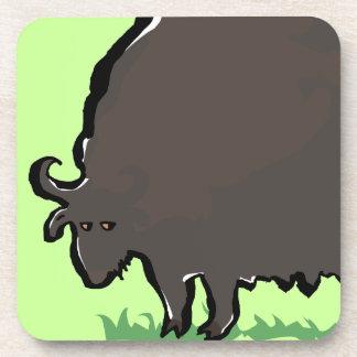 buffalo beverage coaster