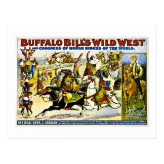 Buffalo Bill 1899 - Jinetes árabes Postales