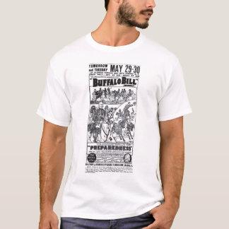 Buffalo Bill 1916 vintage show poster T-shirt